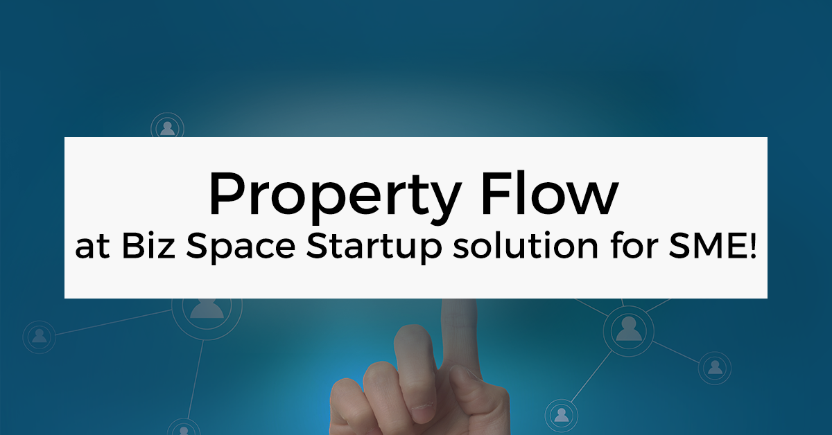 Property Flow ในงาน Biz Space Startup solution for SME!