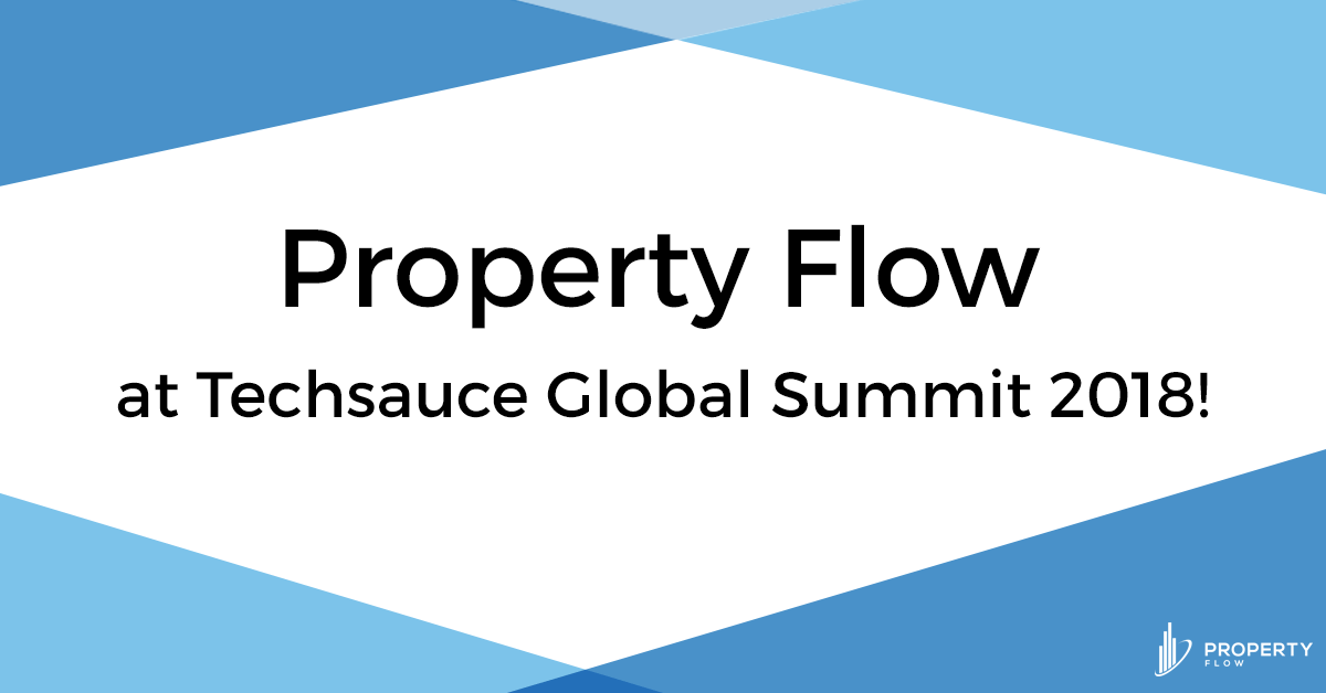 Property Flow at Techsauce Global Summit 2018!